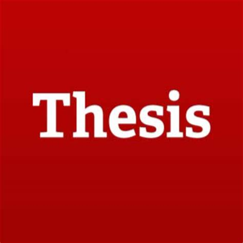 One Click Essays: Writing and presenting your thesis or